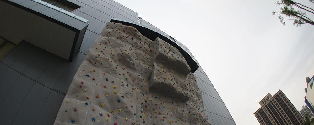 戶外攀岩場照片