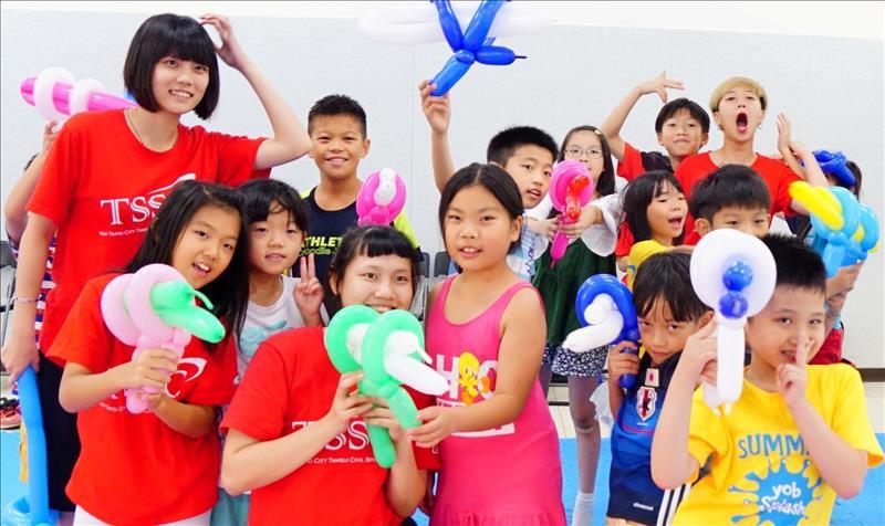 TSSC暑期兒童美式運動營2018