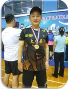 杜東昇羽球教練照片